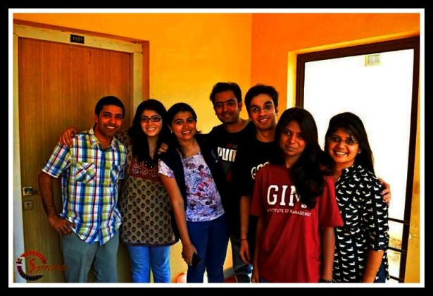 Members of Hriday who made it all possible!