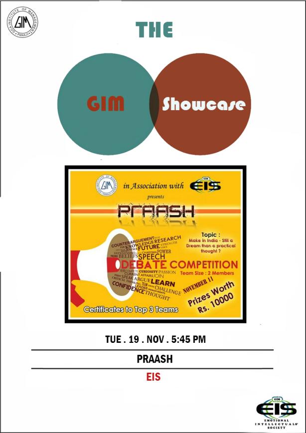 The GIM Showcase_Praash